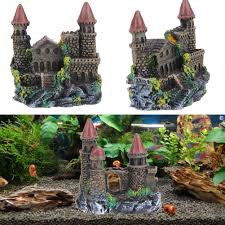 compare prices on castle aquarium decoration online shopping buy