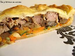canard cuisine recette tourte au canard chignons et légumes 750g