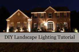 Landscaping Flood Lights Our Home From Scratch