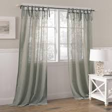 Linen Curtains With Grommets Gray And White Linen Curtains Decoration And Curtain Ideas