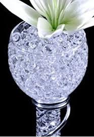 Vase Fillers Balls Amazon Com Transparent Crystal Soil Magic Pearl Shaped Grow
