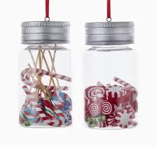 glass jar ornaments 2 assorted kurt s adler