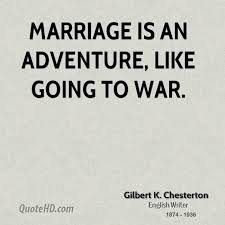 wedding quotes adventure gilbert k chesterton marriage quotes quotehd