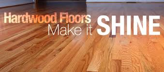how to hardwood floors shine