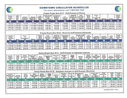 Scsu Map Ccc Schedules