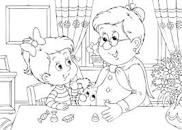 mothers day coloring pages grandma mothers day coloring pages