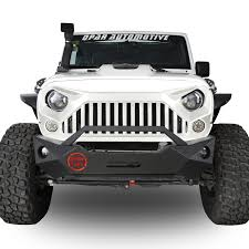white jeep 4 door full white front topfire grille grill for jeep wrangler 2011 2017