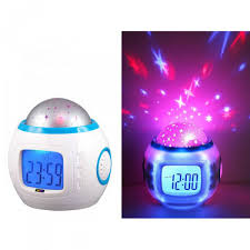 light projection alarm clock star light projection alarm clock
