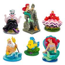 disney s princess mermaid assorted mini resin aquarium