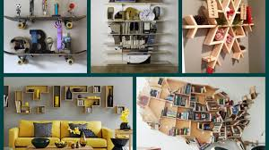 home decor diy trends new creative shelves ideas diy home trends including design for