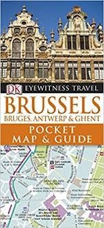 map brussels dk eyewitness pocket map and guide brussels dk 9781405369169