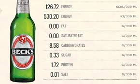 how many calories in a can of bud light beers including stella becks and budweiser to have calorie counts