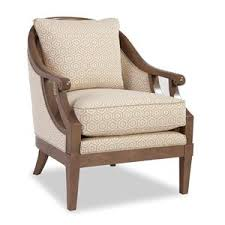 Coastal Accent Chairs Craftmaster Accent Chairs Wing Back Chair With Traditional Turned
