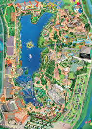 Photo Map Der Parkplan Bobbejaanland