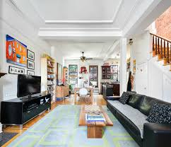 this 4 750 month park slope townhouse duplex feels like a home