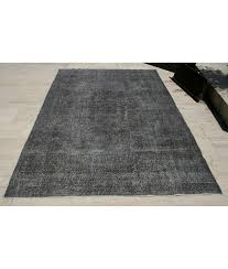 Over Dyed Distressed Rugs Vintage Oushak Rug 5 4x8 9ft Low Pile Rug Distressed Rug Overdyed