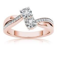 2 s ring two diamond ring gold and white gold diamond