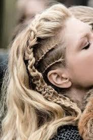 lagertha hairstyle lagertha hair on pinterest viking hair viking hairstyles and