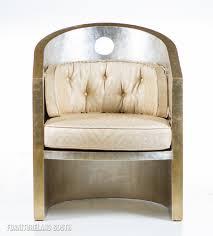 White Armchair Design Ideas Decoration Ideas Impressive White Leather Upholstered Barrel