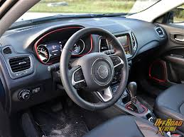jeep compass 2017 interior 2017 jeep compass trailhawk review