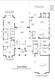 Casa Bella Floor Plan Casabella At Windermere The Villa Divina Home Design