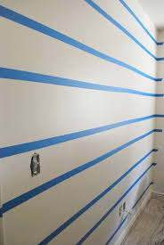 the shabby nest scotch blue painting party a striped wall for