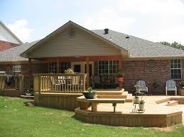 Backyard Seating Ideas by Cozy Seating Spot In Small Backyard Wooden Deck Idea Grabbing