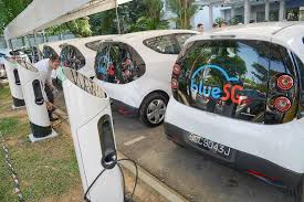 electric cars charging electric car sharing scheme to be rolled out from 2017 singapore