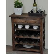 wine rack with drawer wayfair