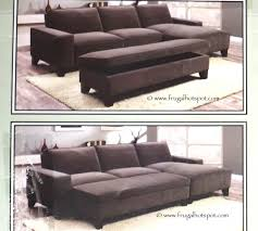 Fabric Sectional Sofas With Chaise Costco Chaise Sofa With Storage Ottoman 849 99 Frugal Hotspot