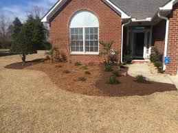 exterior home landscape design green garden grass colorful