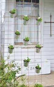 Flower Pot Holders For Fence - 624 best plant pots and displays images on pinterest plants