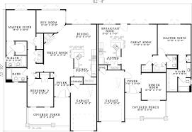 Architectural Design Styles Plan 59741nd Craftsman Style Duplex House Plan Duplex House