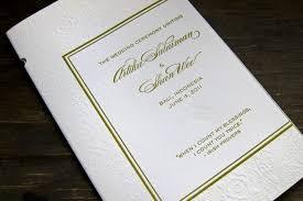 wedding booklets bali it or not custom letterpress wedding booklets