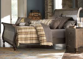 buy southern pines king sleigh bed by liberty from www mmfurniture
