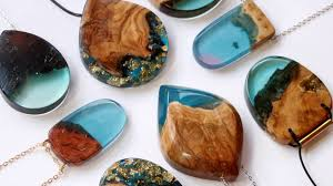resin wood necklace images Jagged wood fragments find new purpose when fused with resin by jpg