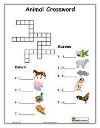 esl printable animal vocabulary worksheets english pinterest