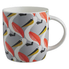 Peacock Mug Pelly Pelican Patterned Mug Buy Now At Habitat Uk