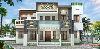Modern Farmhouse Elevations by Kerala Home Design At 3075 Sq Ft New Bellslovh Hahnow