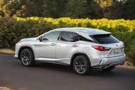 lexus luxury sports car 2016 lexus rx 350 f sport review plush luxury with useless sport