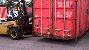 shipping containers are easy to move youtube