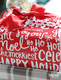 personalized gift wrap ideas