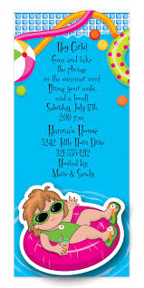 free pool party invitation templates free printable invitation
