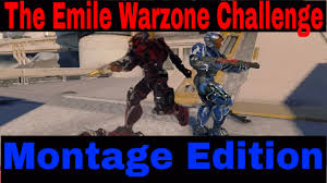 Challenge Montage Halo 5 Guardians The Emile Warzone Challenge Montage Edition