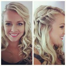 how to pull back shoulder length hair best 25 side braid with curls ideas on pinterest braids with