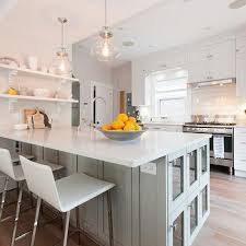 Kitchen Peninsula Design Gray Kitchen Peninsula Design Ideas
