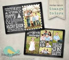 christmas card template photoshop template family christmas