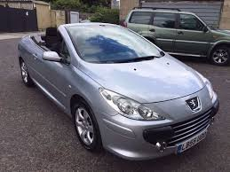 peugeot cabriolet 2006 peugeot 307 coupe cabriolet 2 0 s 2dr warrnated low mileage