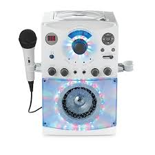 singing machine with disco lights the singing machine top load karaoke system with disco lights