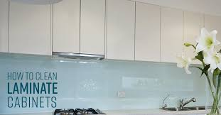 how do you clean kitchen cabinets without removing the finish how to clean laminate cabinets simple green